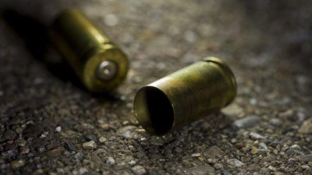 Foto: Casquillos de bala en el piso