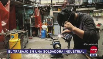 Así funciona una soldadora industrial