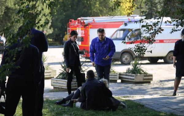 Ataque en escuela de Crimea. (EFE)