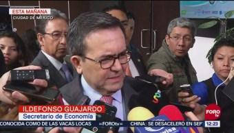 Aumento de línea de crédito es buena noticia para México: Guajardo