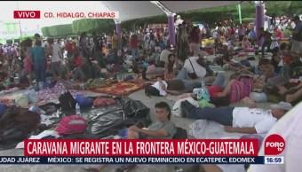Autoridades De Chiapas Rebasadas Paso De Migrantes México Juan Álvarez, Corresponsal De Noticieros Televisa Y Forotv Chiapas