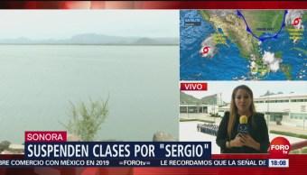 Autoridades de Sonora, listas para atender a la población