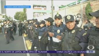 Autoridades repliegan bloqueo en avenida Chapultepec