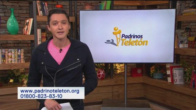 Ayuda al Teletón a llegar a la meta del Padrinotón