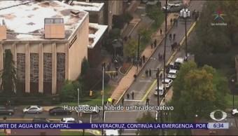Bautizo en Pittsburgh, el peor ataque antisemita en Estados Unidos