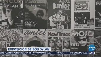Bob Dylan presenta exposición Mondo Scripto en Londres