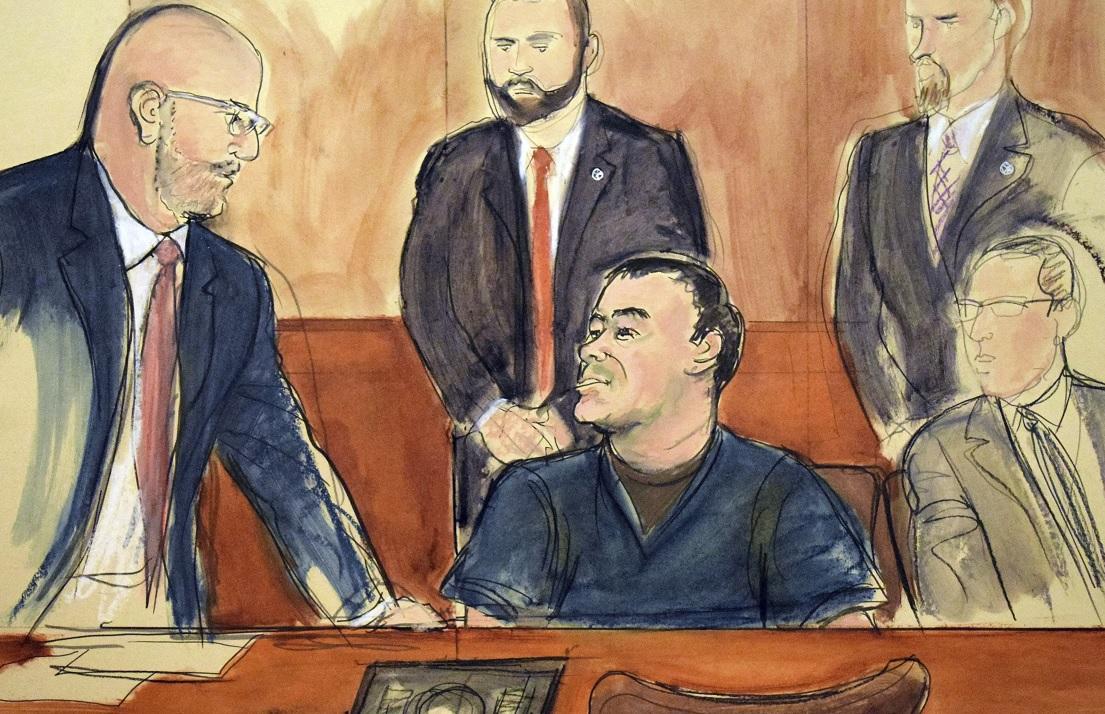 'El Chapo' Guzmán, sin seis de 17 cargos: Nueva York