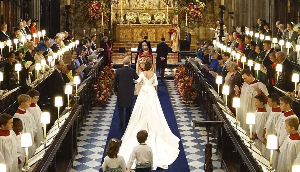 Boda real: Windsor se engala para el enlace de la princesa Eugenia y Jack Brooksbank