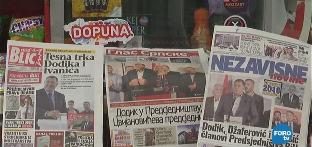Bosnia Herzegovina Renueva Presidencia Urnas Elecciones