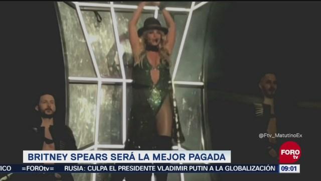 Britney Spears será cantante mejor pagada de Las Vegas