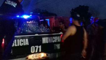 Atacan a disparos a policía municipal de Cajeme, Sonora