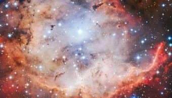 Captura telescopio europeo nebulosa de la 'calavera sonriente
