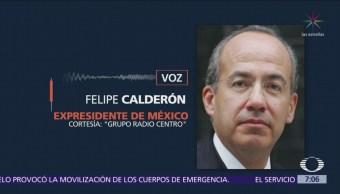 Calderón y AMLO responden a señalamientos de Madrazo