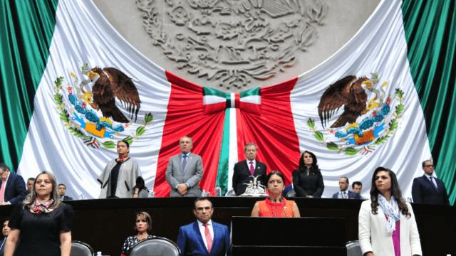 Cámara de Diputados realiza sesión solemne por víctimas de masacre de Tlatelolco