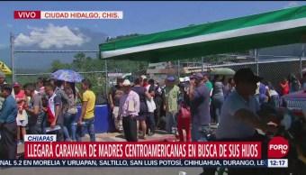 Caravana de madres centroamericanas llega a frontera sur de México