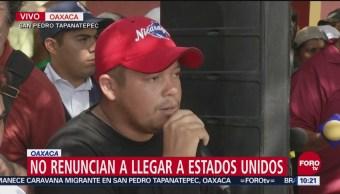 Caravana Migrante Acuerda Crear Comité Seguridad