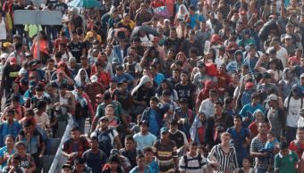 Caravana migrante: Más de siete mil personas, dice ONU