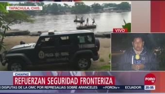 Caravana Migrante Empieza Llegar México Frontera Guatemala