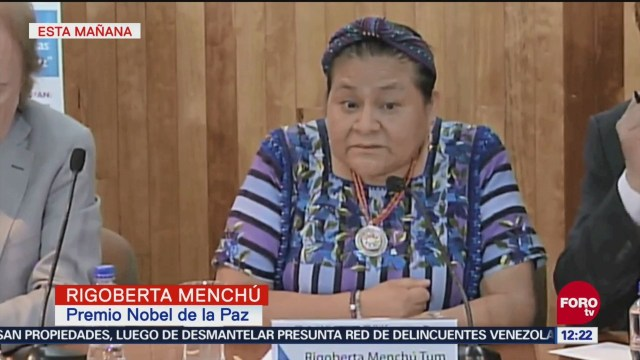 Caravana migrante, nueva crisis humanitaria: Rigoberta Menchú