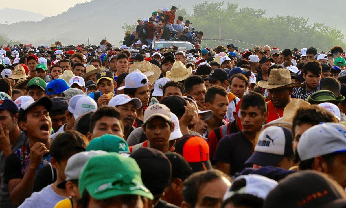 Migrantes intentan linchan a un hombre en Oaxaca