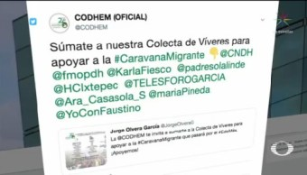 Caravana Migrante Provoca Reacciones Apoyo Rechazo