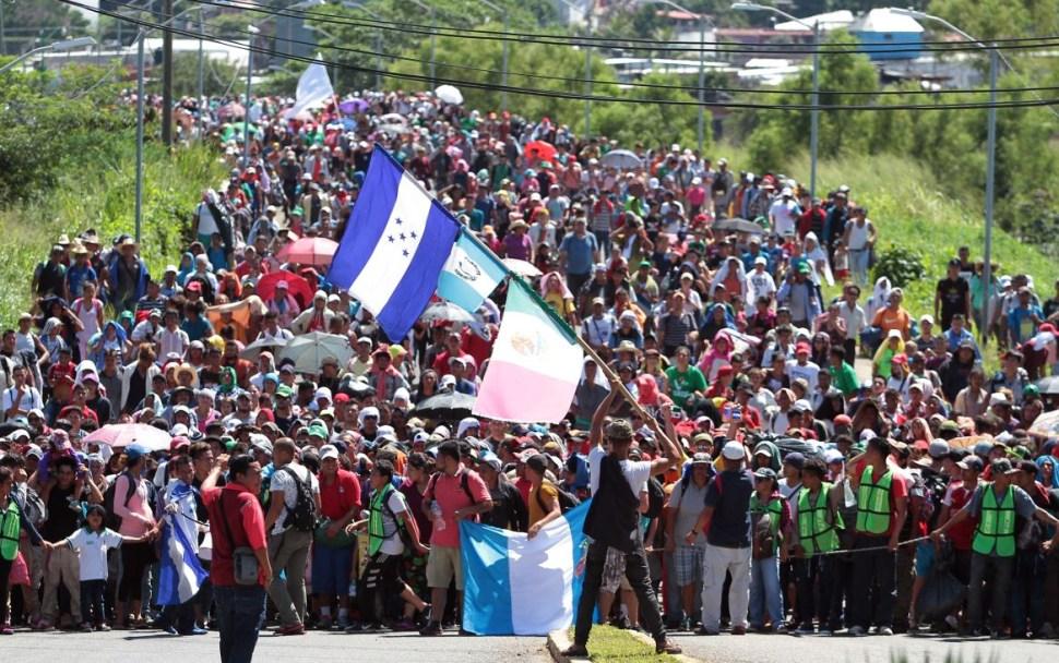 Caravana migrante realizará mayor recorrido este miércoles
