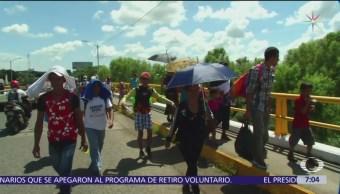 Caravana migrante reúne a más de 2 mil 500 niños