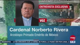 Cardenal Norberto Rivera Había Recibido Paquete Sospechoso