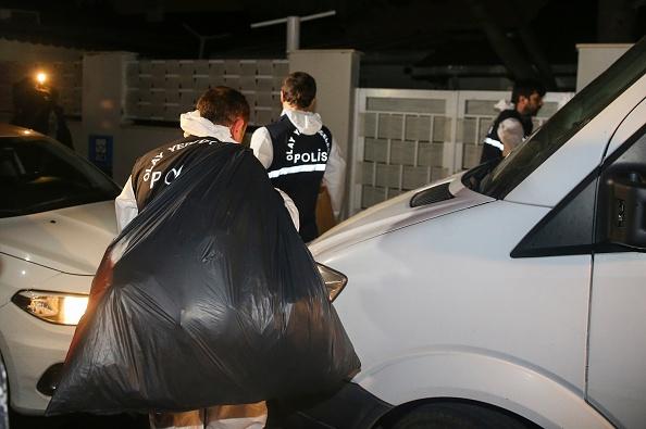 La Policía turca registra la residencia del cónsul saudita en Estambul. (Getty Images)