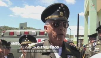Salvador Cienfuegos Responde Legalización Amapola