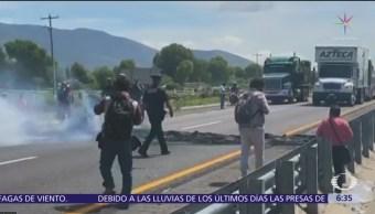 Cierran autopista Puebla-Orizaba por operativo huachicoleros