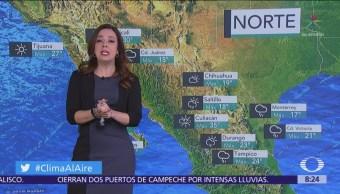 Prevén cielo nublado en el Valle de México