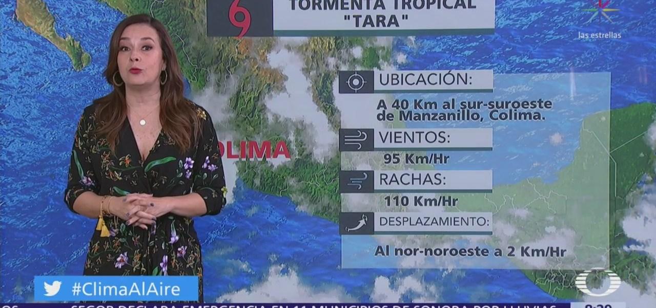Prevén lluvias en la Ciudad de México