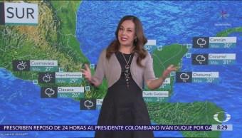 Pronostican lluvias en la CDMX