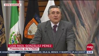 CNDH pide acabar con la impunidad en asesinatos contra periodistas