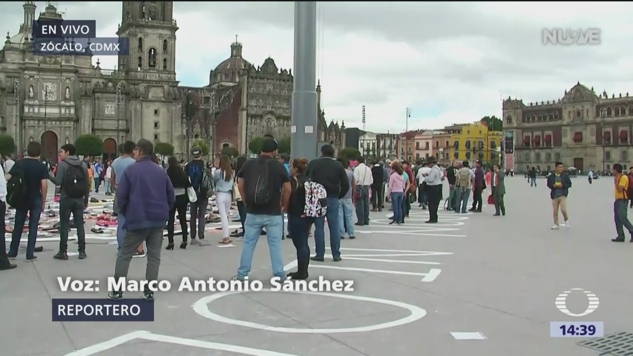 Colectivos instalan memorial por la matanza del Movimiento del 68
