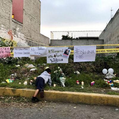 Marchan contra feminicidios en Jardines de Morelos, Ecatepec