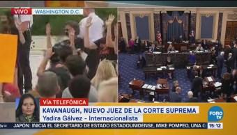 Confirmación Kavanaugh Ministro Posiciona Trump Próximas Elecciones