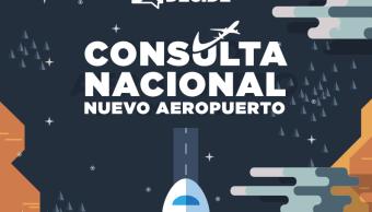 Encuestadores debaten sobre consulta del nuevo aeropuerto