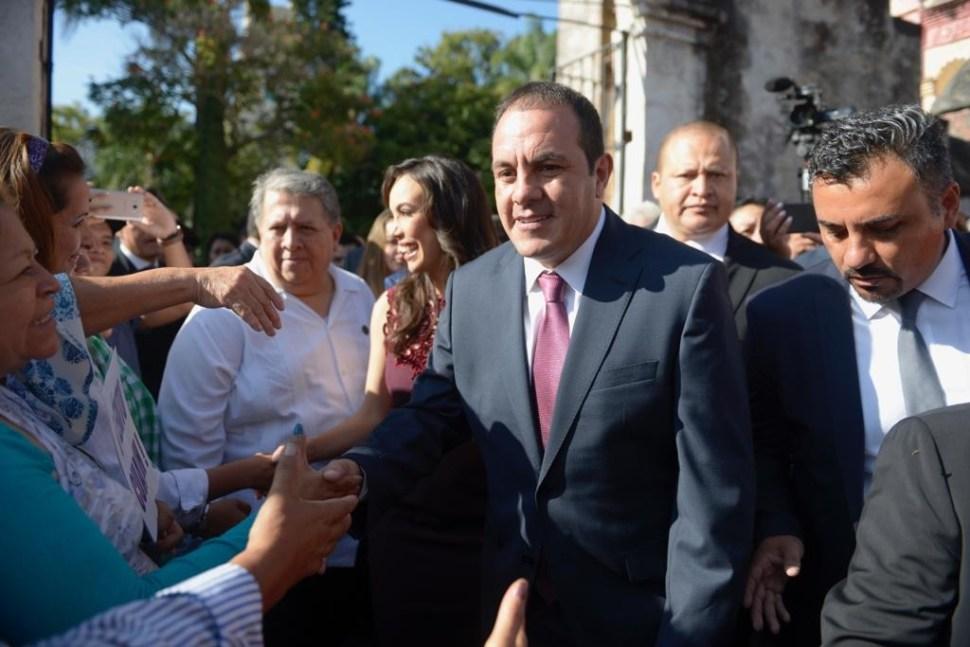 Cuauhtémoc Blanco, gobernador de Morelos; rinde protesta