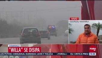 Cuerpos Seguridad Alertas Coahuila Paso Willa