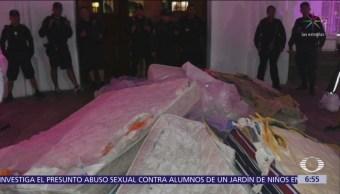 Damnificados por lluvias en Sinaloa rechazan colchones donados
