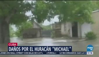 Daños en Cuba por Michael
