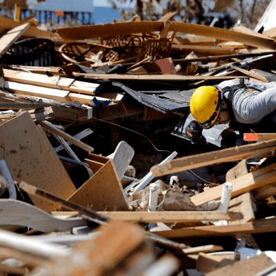 EU declara 'desastre mayor' en Georgia por huracán 'Michael'