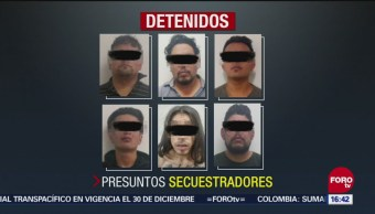 Desarticulan banda de secuestradores en Puebla