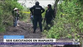 Descubren 6 cadáveres con signos de violencia en Guanajuato