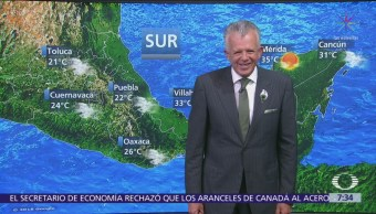 Frente frío 6 provocará bajas temperaturas en México