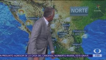 Despierta con Tiempo: Huracán 'Willa' y depresión 'Vicente' avanzan hacia México