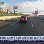 Despierta prueba ruta entre Santa Lucía, Toluca y CDMX
