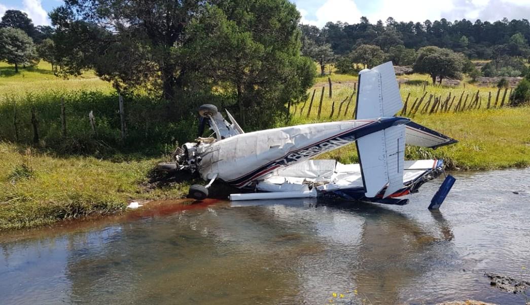 Se desploma avioneta en Sonora; mueren tripulantes